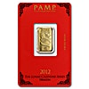 PAMP Gold Bar Lunar Series Dragon - Circulated in good condition - 5 g