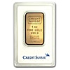 Credit Suisse Gold Bar - Circulated in good condition - 1 oz