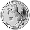 Year of the Horse Silver Round - 1 oz