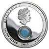 Australia 2015 Treasures of the World locket - Silver Proof Coin - 1 oz