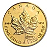 Canadian Gold Maple 1999 - 1/2 oz - 20 years ANS Privy