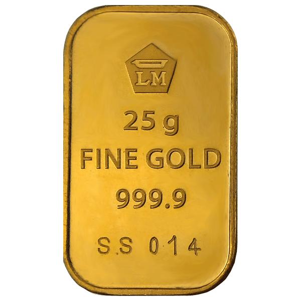 Buy Logam Mulia gold bar - 25 g   Indonesian gold bars