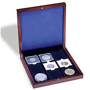 Volterra Coin Box for 9 Quadrum Coin Capsules