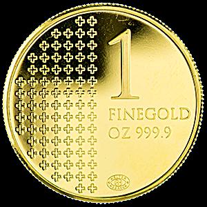Helvetia Gold Round 1 Oz