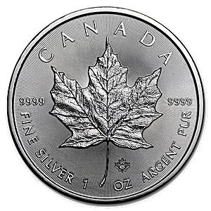 Canadian Silver Maple 2016 - 1 oz
