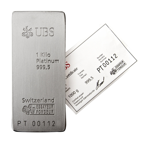 Ubs Platinum Bar 1 Kg