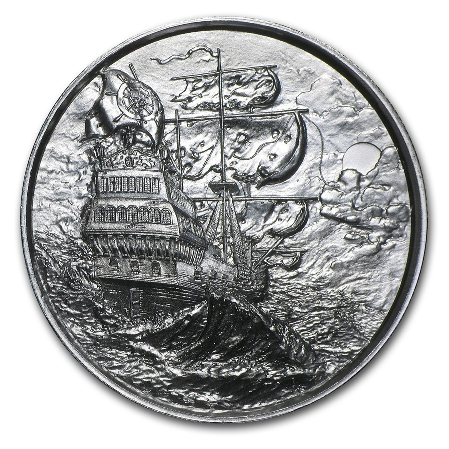 The Privateer Silver Round 2 Oz