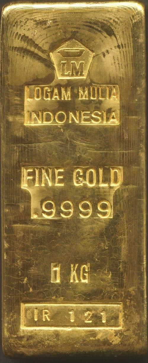 Logam Mulia Gold Bar 1 Kg