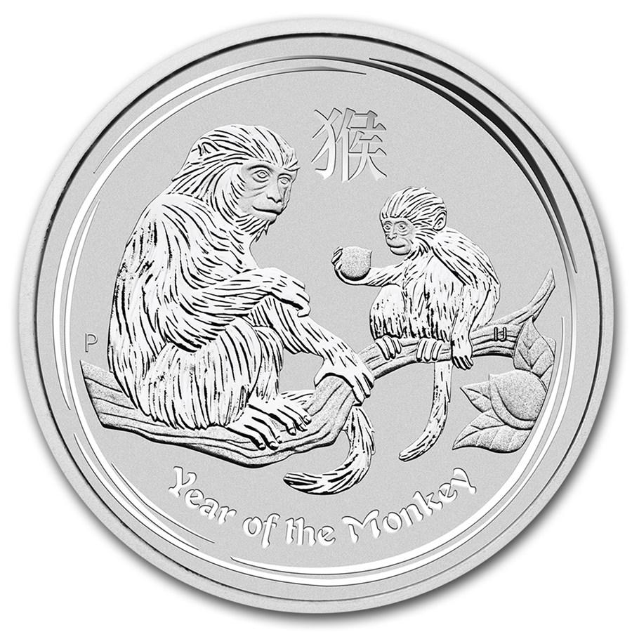 Australian Silver Lunar Series 2016 Year Of The Monkey
