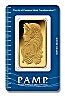PAMP Gold Bar (Circulated in good condition)