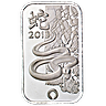 Silver Bar Rand Refinery - Year of the Snake 1 oz