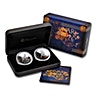 Australian Silver Lunar Series 2015 - Good Fortune Proof Set - 2 coins of 1 oz with Box and COA