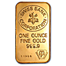 Swiss Bank Corporation Gold Bar (Circulated in good condition)