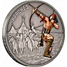 Niue 2017 Silver Warriors of History - Apache - Antique Finish -1 oz