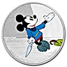 Niue Silver Disney Mickey Through The Ages 2016 - Brave Little Tailor  - 1 oz