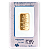 PAMP Gold Bar - Circulated in good condition - 1/2 oz