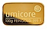 Umicore Gold Bar - 100 g