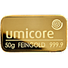 Umicore Gold Bar - 50 g