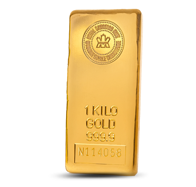Royal Canadian Mint Gold Bar 1 Kg