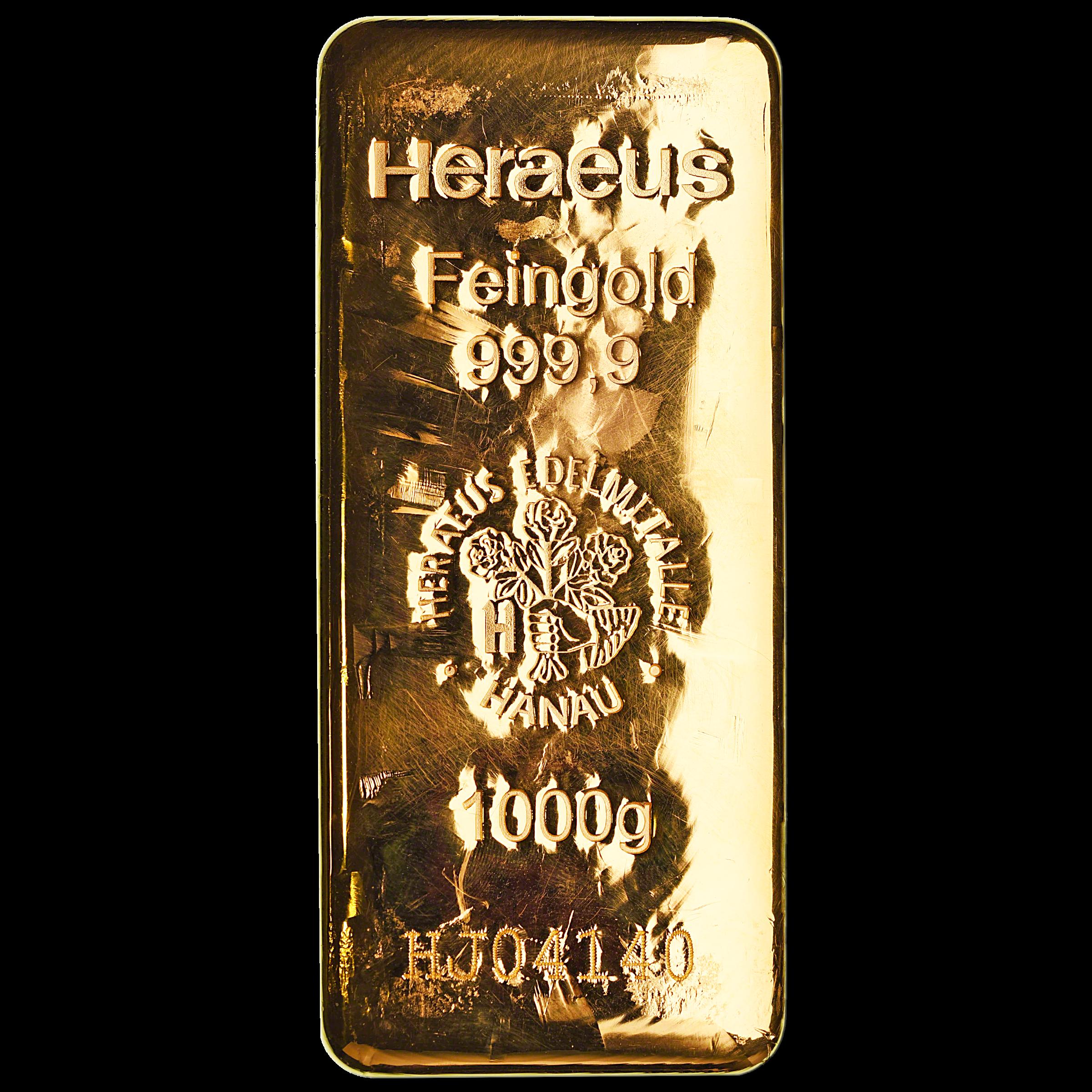 Heraeus Gold Bar 1 Kg