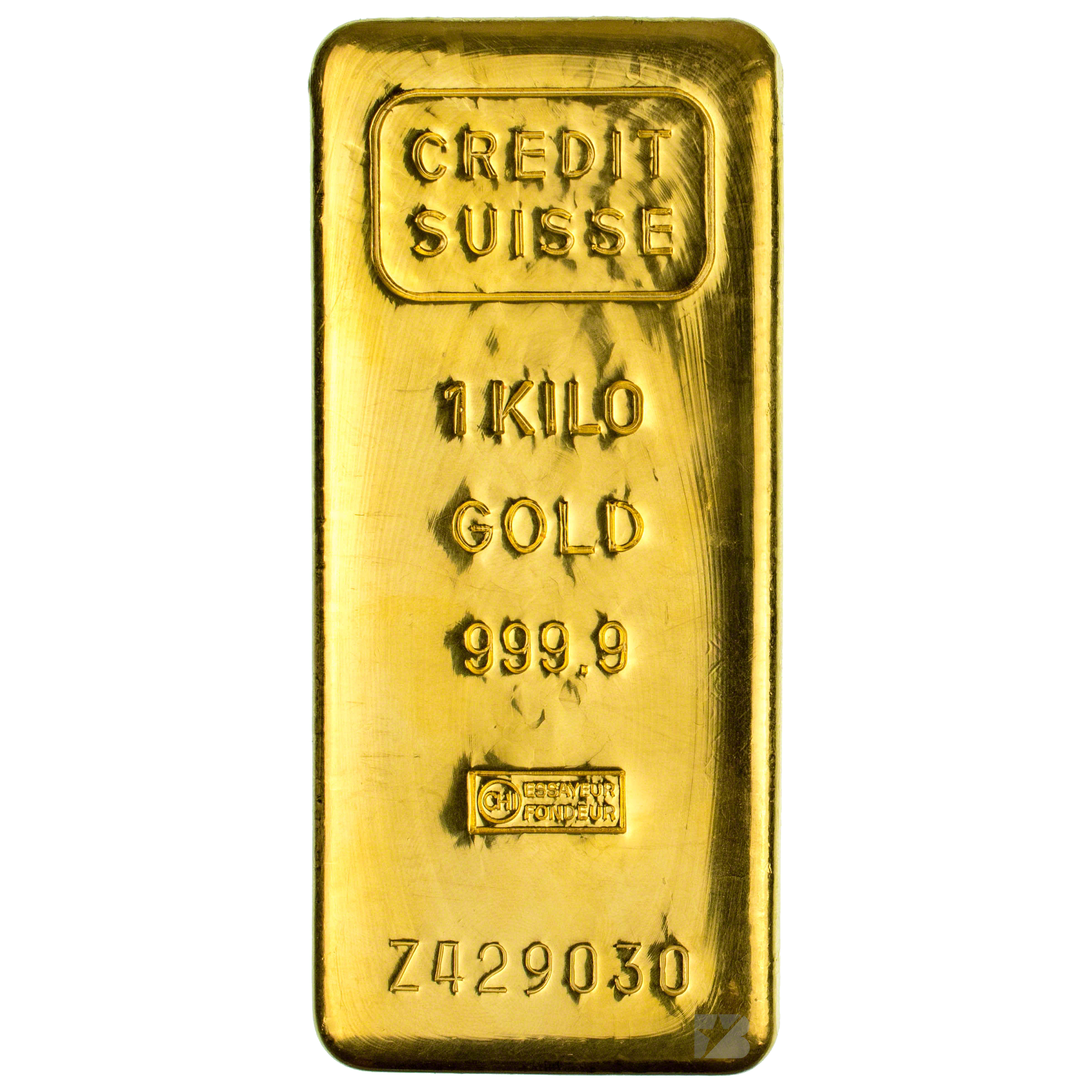 Credit Suisse Gold Bar 1 Kg