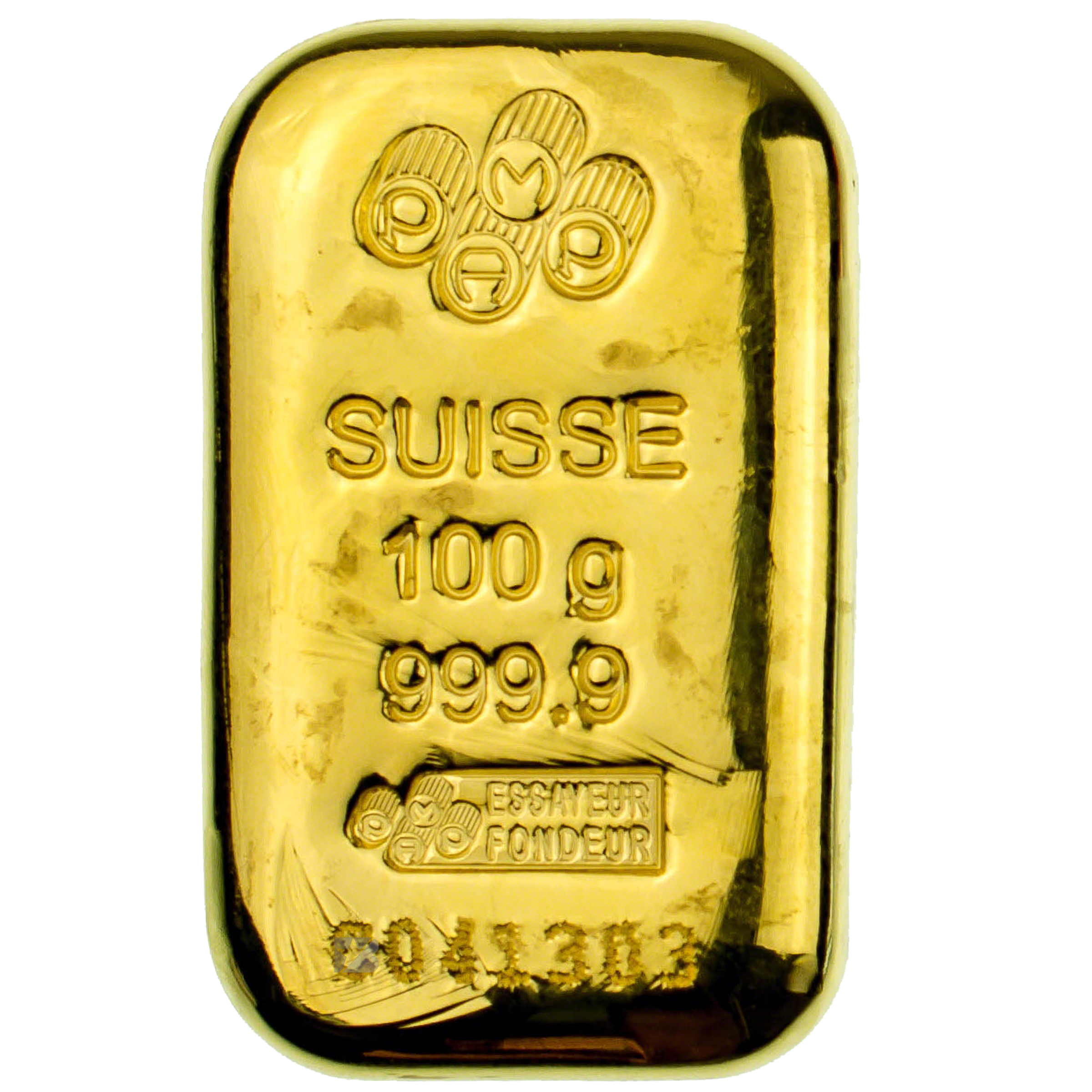 Pamp Gold Cast Bar 100 G