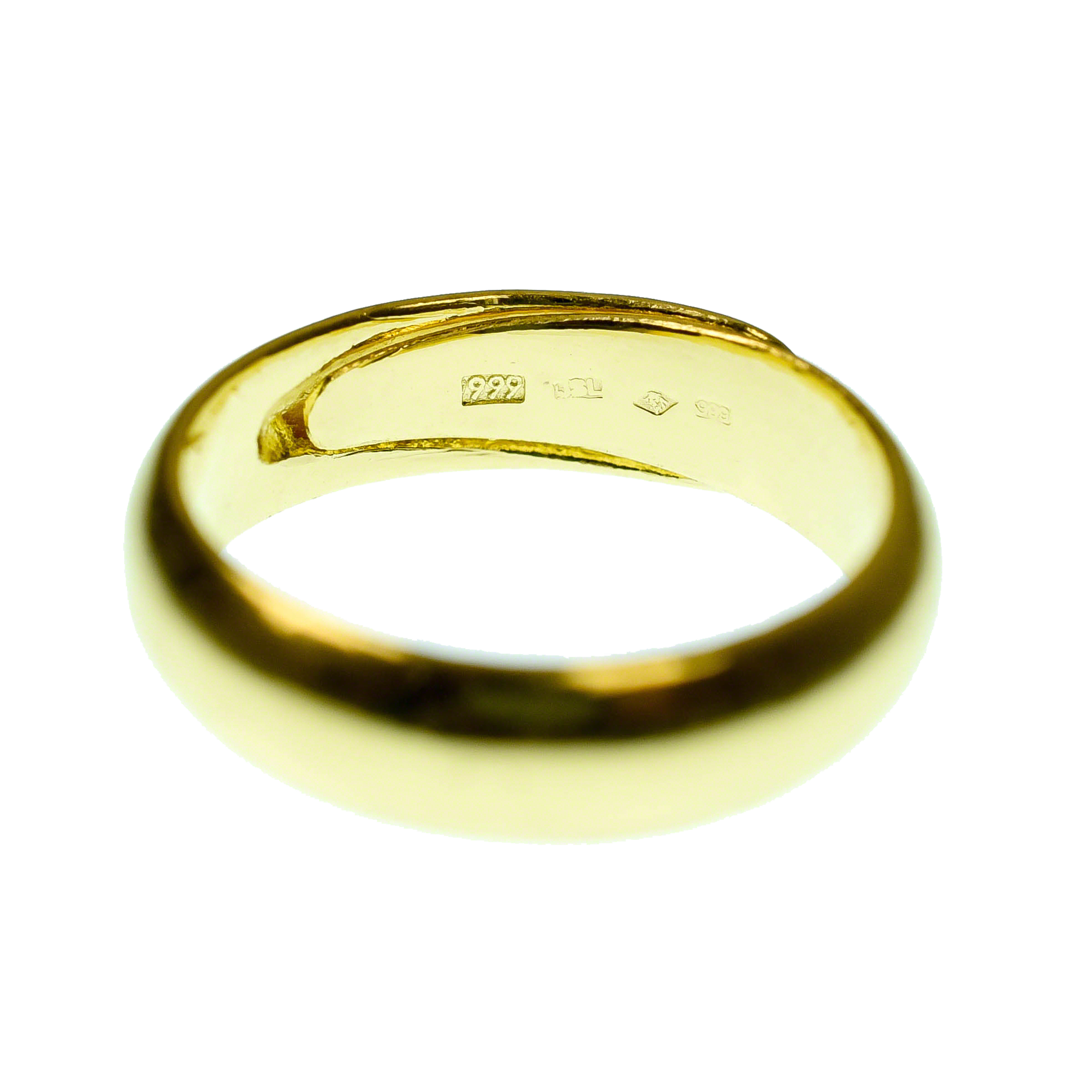 Gold Bullion Ring 10 G