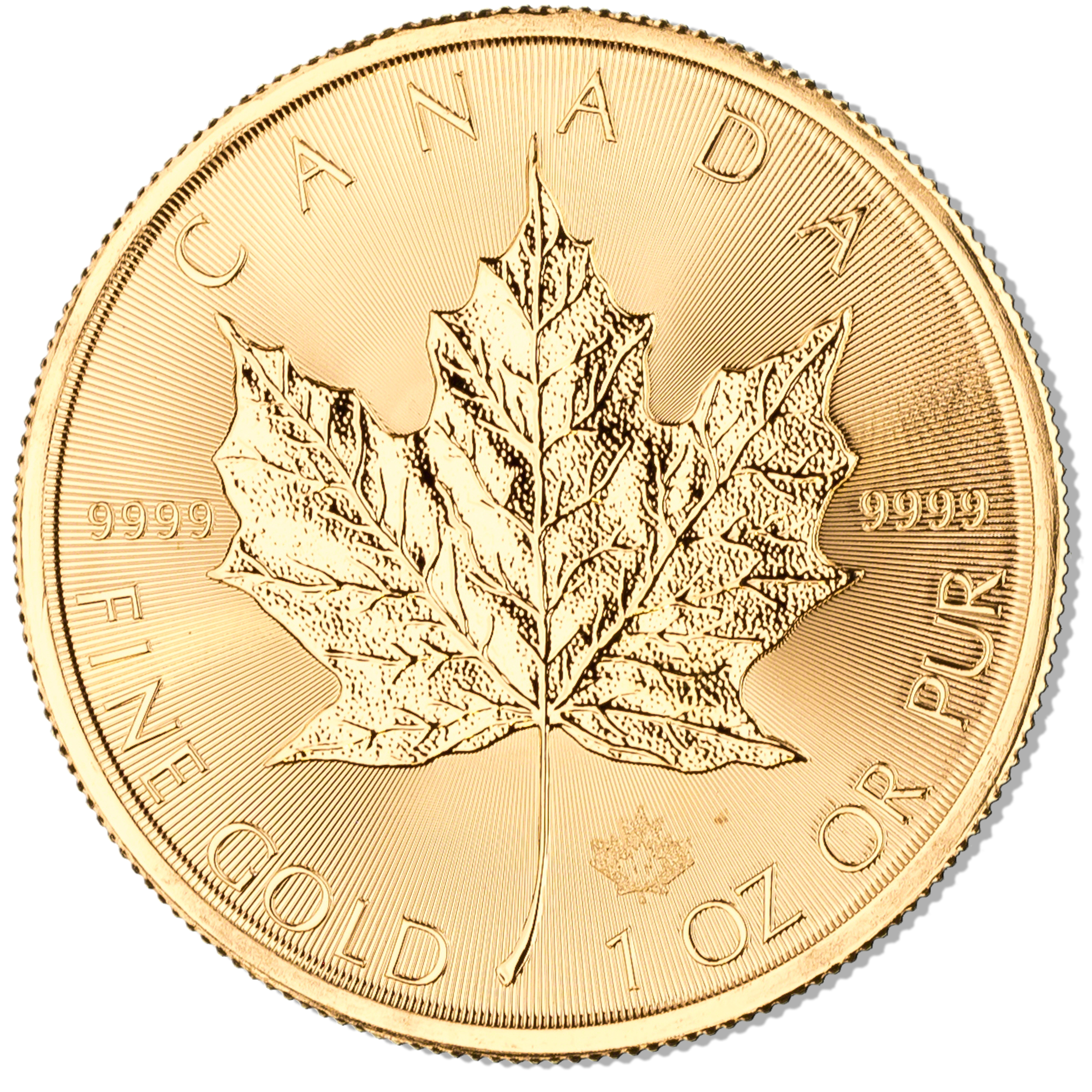 Canadian Gold Maple 2017 1 Oz