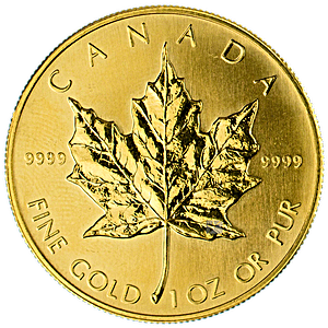 Canadian Gold Maple 1990 - 1 oz