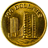 Singapore Mint 10th Anniversary of the Republic of Singapore 1965-1975 - HDB - 5.44 g gold