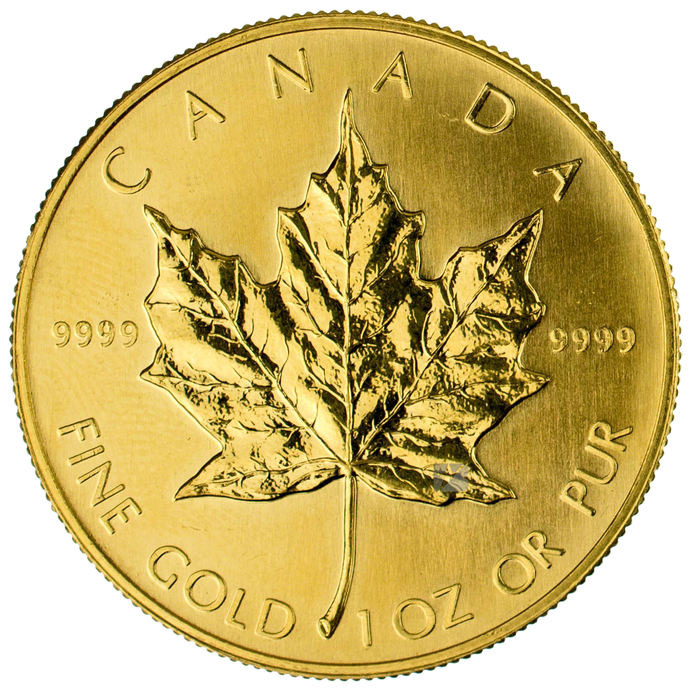 Canadian Gold Maple 1990 1 Oz