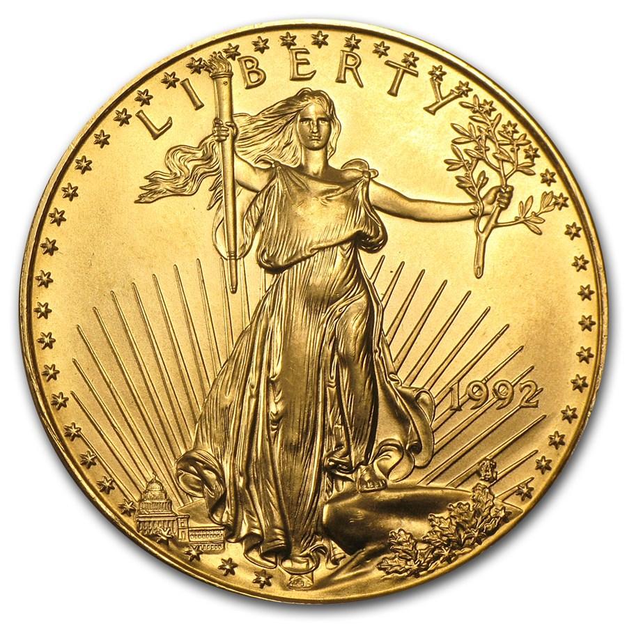 American Gold Eagle 1992 1 Oz