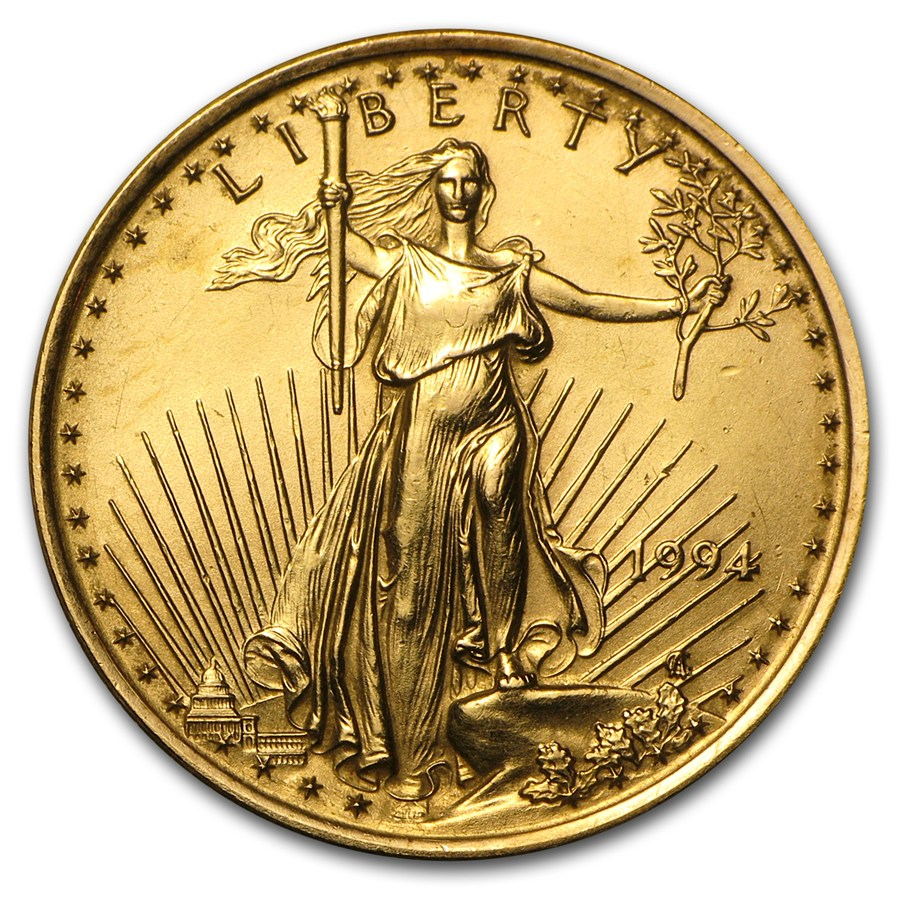 American Gold Eagle 1994 1 4 Oz