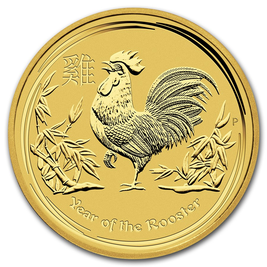 Australian Gold Lunar Series 2017 Year Of The Rooster