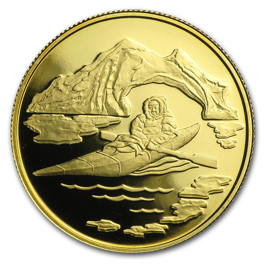 Canada Gold Arctic Terrorities 1980 Proof 1 2 Oz