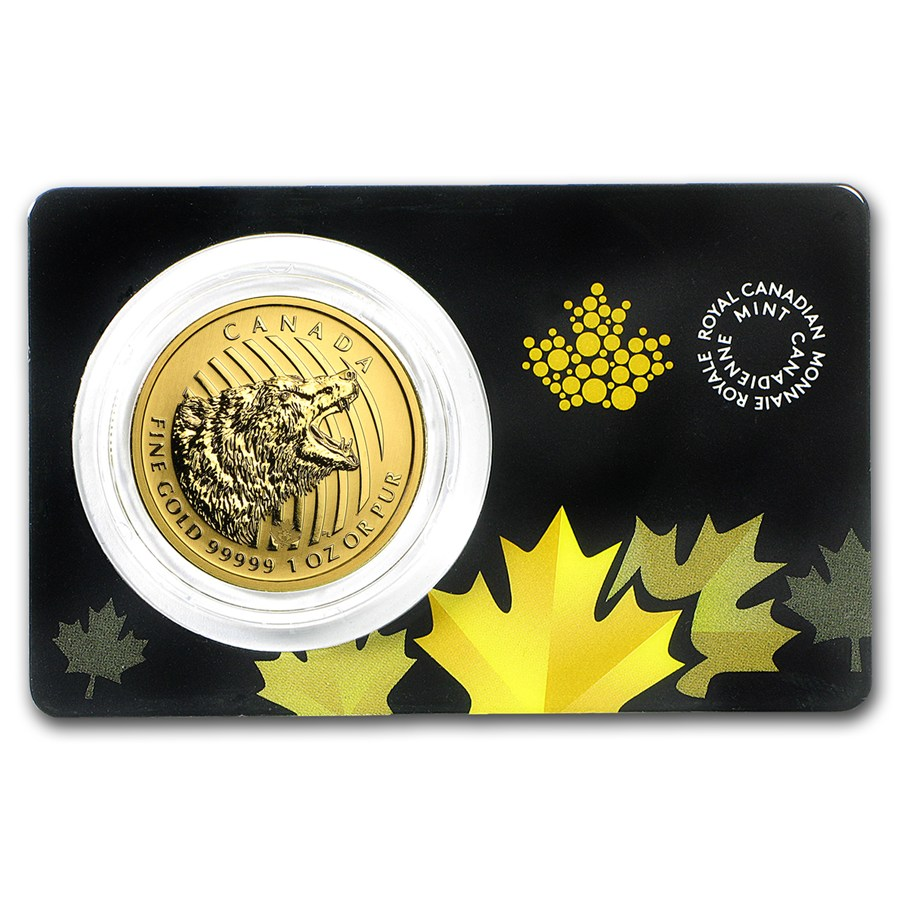 Canadian Gold Roaring Grizzly Bear 2016 1 Oz
