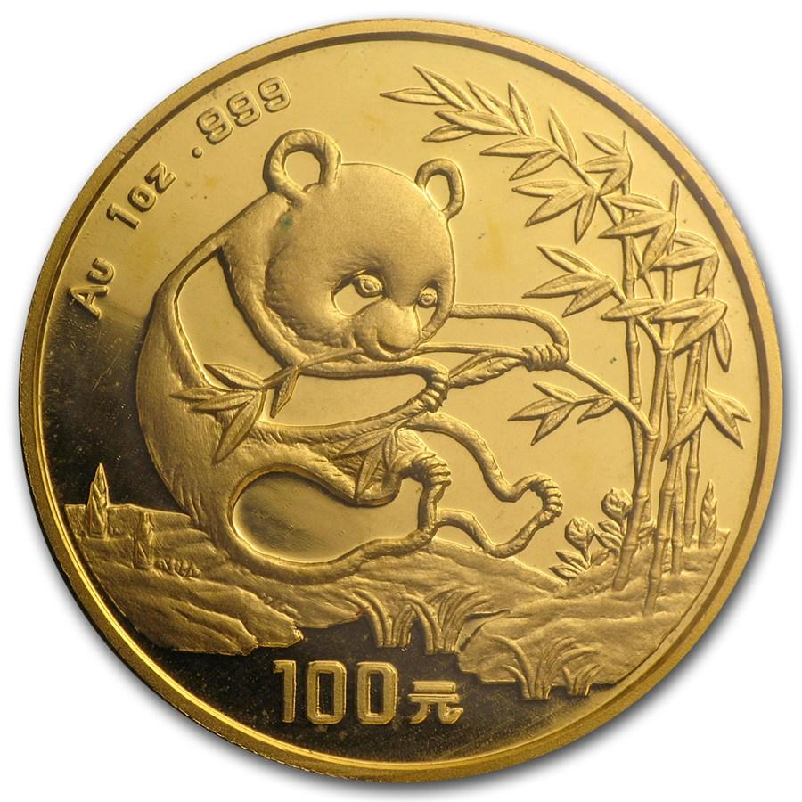 chinese gold panda 1994