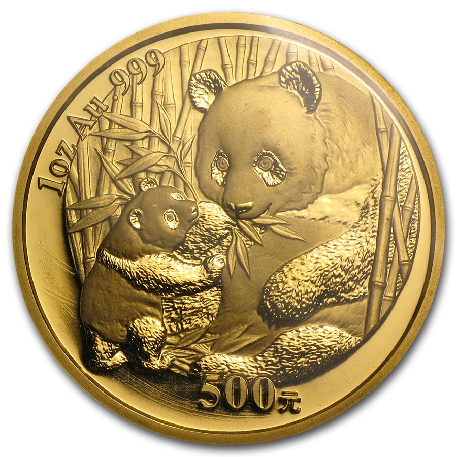 Chinese Gold Panda 2005 1 Oz