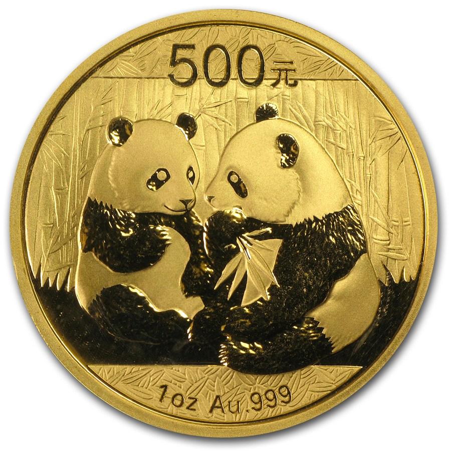 Chinese Gold Panda 2009 1 Oz
