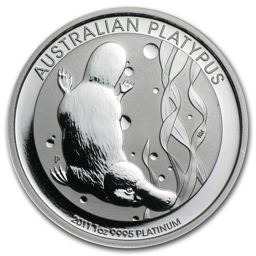 Australian Platinum Platypus 2011 1 Oz