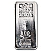 Silver Bar - Various Brands - LBMA - Circulated in good condition - 100 oz