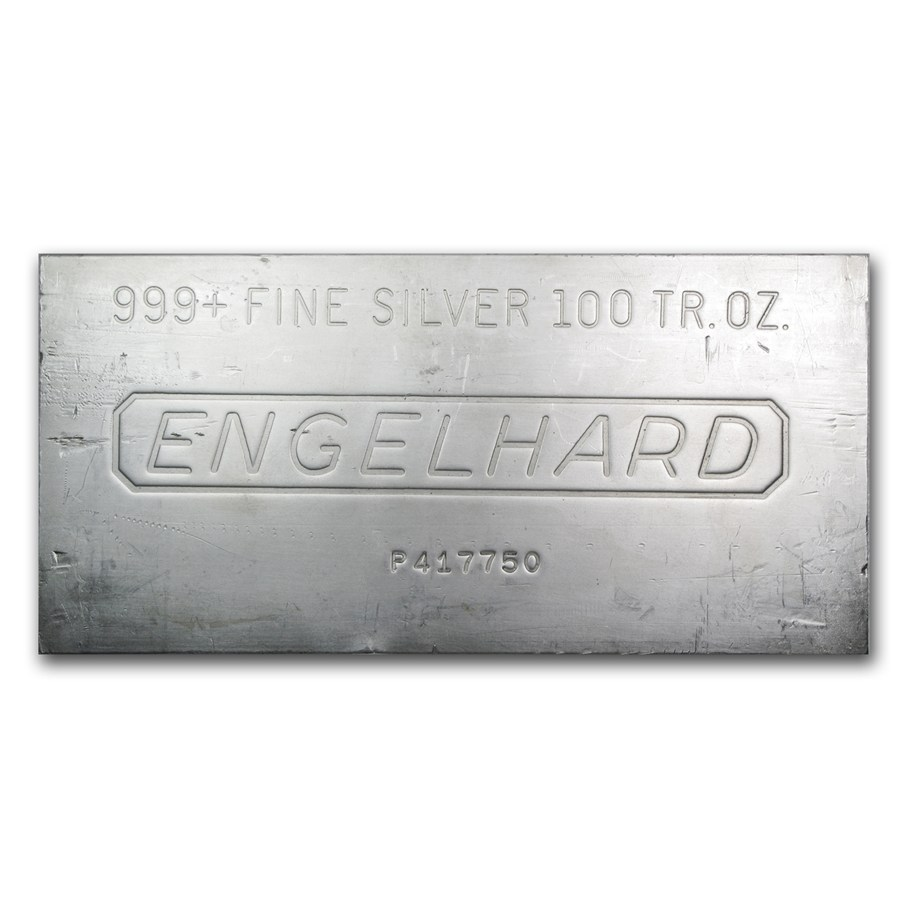 Silver Bar Various Brands Lbma 100 Oz