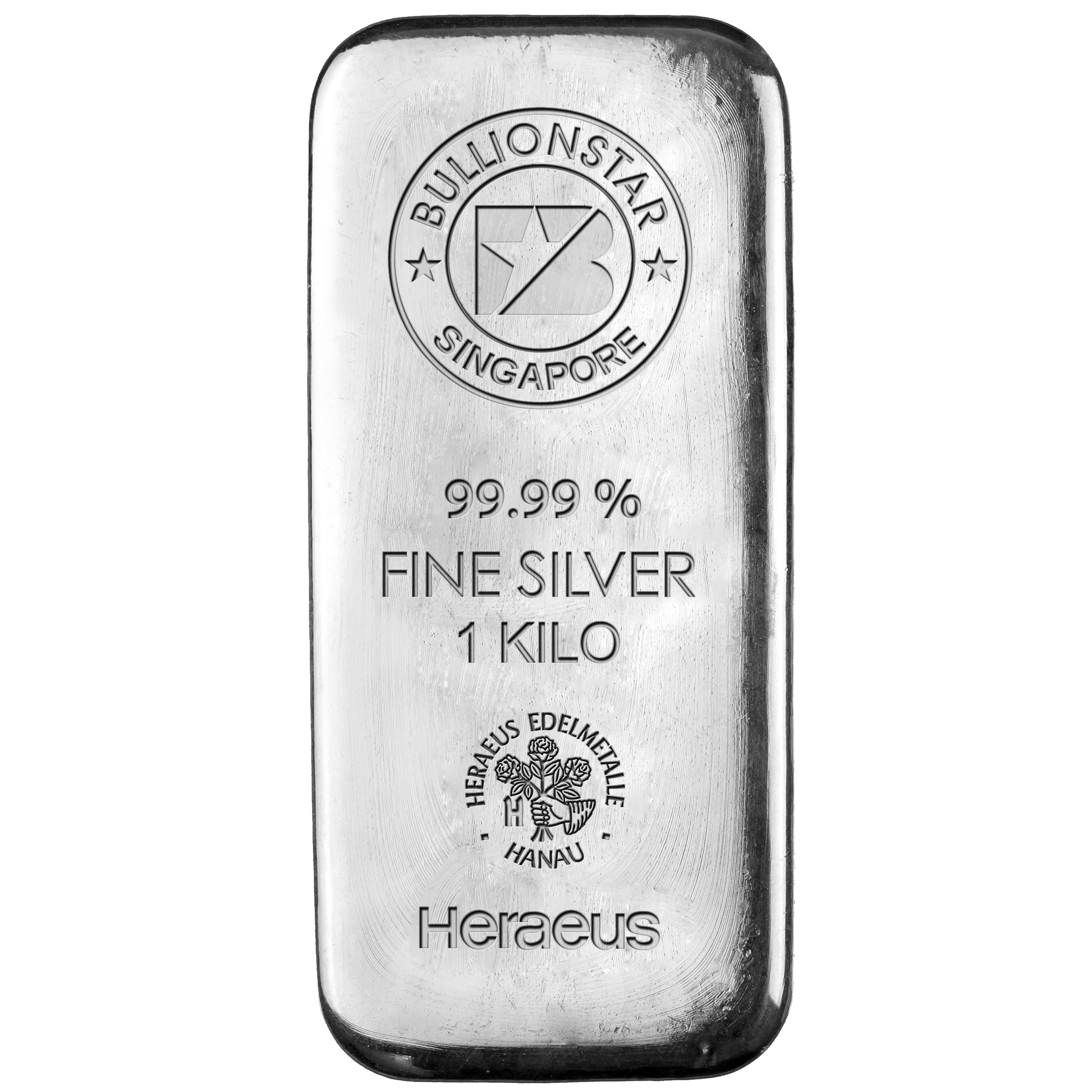 Bullionstar Mint Silver Bars With No Spread 1 Kg
