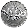 Canada 2015 Silver FIFA Women World Cup - 1/4 oz