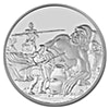 Niue 2016 Silver Creatures of Greek Mythology - Cyclops - 1 oz