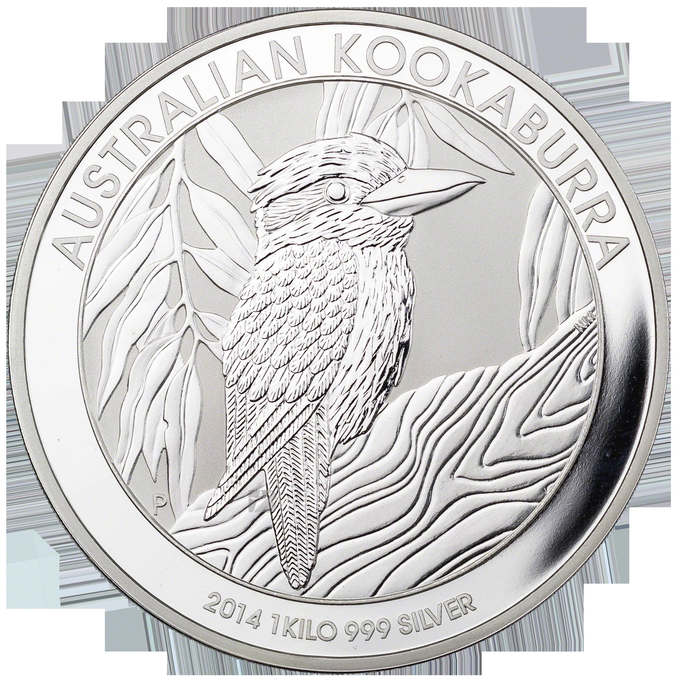 Australian Silver Kookaburra 2014 1 Kg