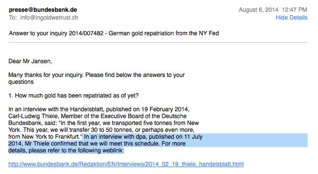 Réserves d'or de la Bundesbank / banque centrale allemande  - Page 3 2295